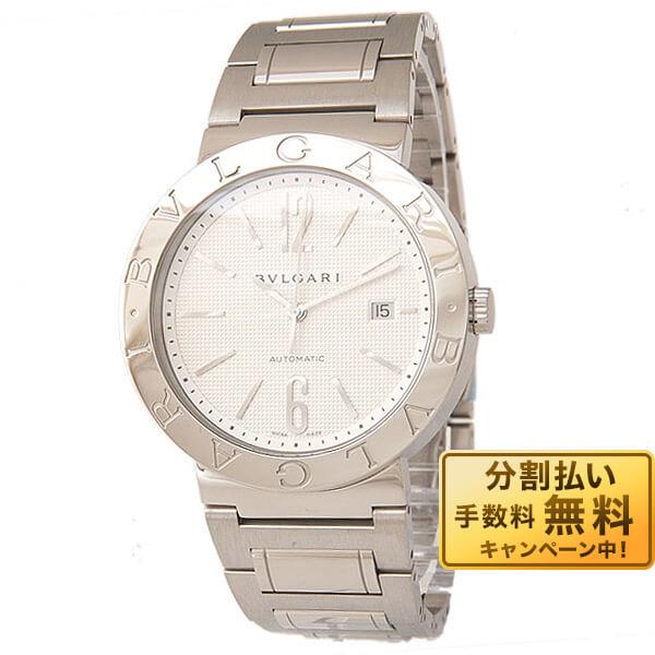 BVLGARI [海外輸入品] ブルガリ ブルガリブルガリ ホワイト 自動巻 BB42WSSD AUTO メンズ 腕時計 時計