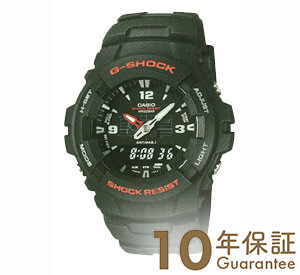 カシオ Gショック G-SHOCK STANDARD BASIC アナログ/デジタルコンビネーションモデル G-100-1BMJF [正規品] メンズ 腕時計 時計