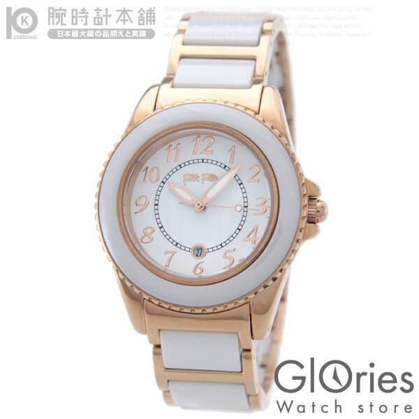 FolliFollie [海外輸入品] フォリフォリ 替えベゼル付 WF1R001BDW レディース 腕時計 時計