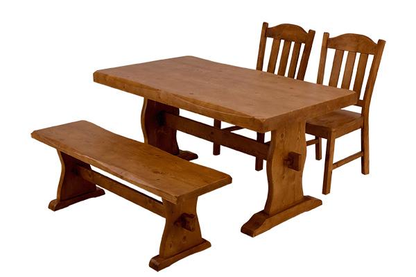 【今すぐ使える割引クーポン発行中】西濃運輸ダイニングテテーブル4点セット ダイニングテーブルセット ダイニングテーブル 木製ダイニングテーブル ダイニングテーブルセット パインダイニング4点セット