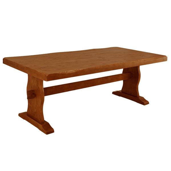 【今すぐ使える割引クーポン発行中】大型家具ダイニングテーブル ワイド 天然木ダイニングテーブル ダイニングテーブル 木製ダイニングテーブル シンプルテーブル 浮造りダイニングテーブル180cm幅【送料無料】