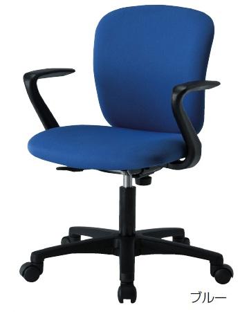 【送料無料】オフィスチェア (SS-100シリーズ・SS-100A) 肘付き【カラー選べます】※お客様組立品