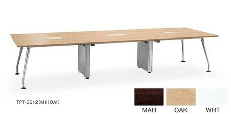 【送料無料】TPT-3612(M1)/AICOミーティングテーブルデスク/テーブル会議テーブル/大型テーブル【お客様組み立て品】【軒先渡し商品】【カラー選べます】