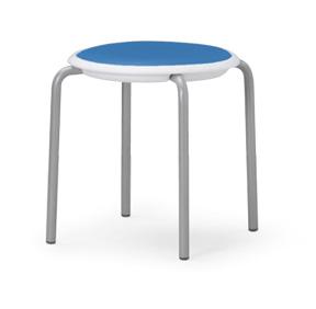 【送料無料】【4脚セット】MC-150Wスタッキングチェア粉体塗装タイプ 【座面/素材・カラー選べます】オフィス家具 会議 チェア/椅子