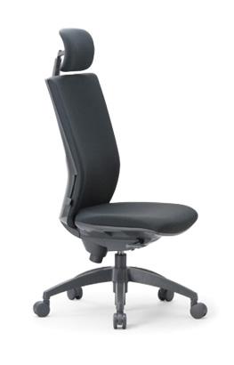 【送料無料】 オフィス家具オフィスチェア【組立品】多機能チェア・ミーティングチェアチェア/椅子ハイバック【ヘッドレスト付き】【素材・カラー選べます】