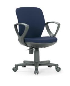 【送料無料】 オフィス家具オフィスチェア・肘付き【組立品】事務椅子・ミーティングチェアチェア/椅子【メーカー品】肘付き【素材・カラー選べます】