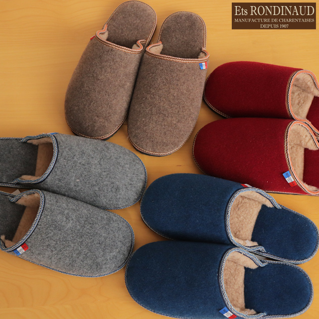 sports shoes 82835 6bbbc RONDINAUD (rondinow) felt room shoes slippers