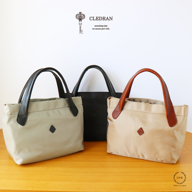 CLEDRAN (クレドラン) SANT TOTE S (CL2778)【送料無料 トート ナイロン】