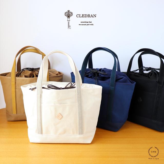 CLEDRAN (クレドラン) RENCO MEDIUM TOTE (CL2754)【送料無料 トート 巾着 おしゃれ】