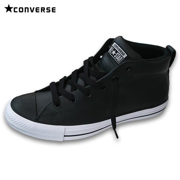 コンバース CONVERSE 靴 スニーカー 142078C BLACK/WHITE CT STREET MID ブラック×ホワイト 27.5cm アウトレット[並行輸入品]【メンズ シューズ 運動靴 スポーツ ギフト ブランド 黒 白 ハイカット】