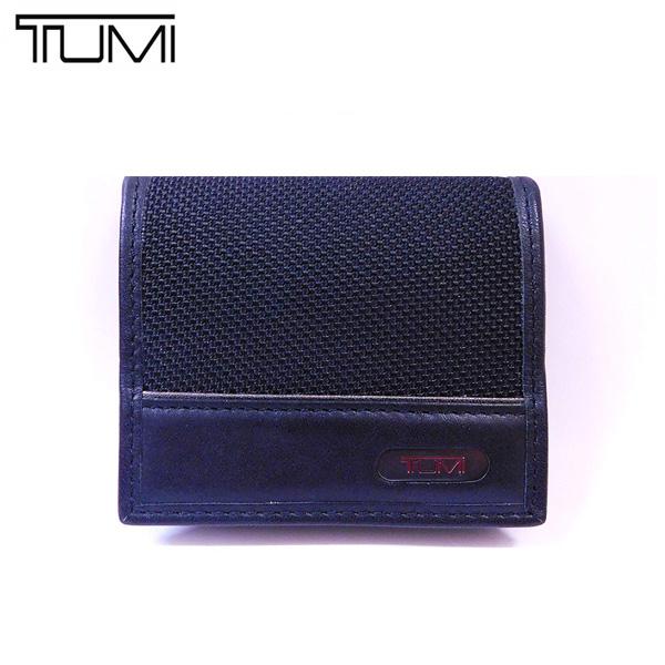 トゥミ TUMI 財布 コインケース 019320D BLACK ブラック アウトレット[並行輸入品]【メンズ 小銭入れ 小物 黒 無地 ギフト ブランド】