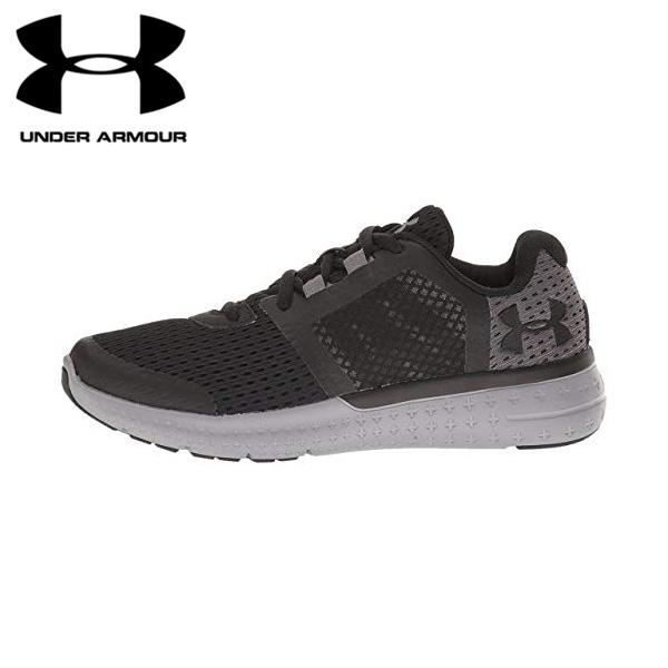 アンダーアーマー UNDER ARMOUR キッズ ジュニア スニーカー 子供靴 ランニングシューズ BGS Micro G Fuel RN 1285438-001 アウトレット[並行輸入品]