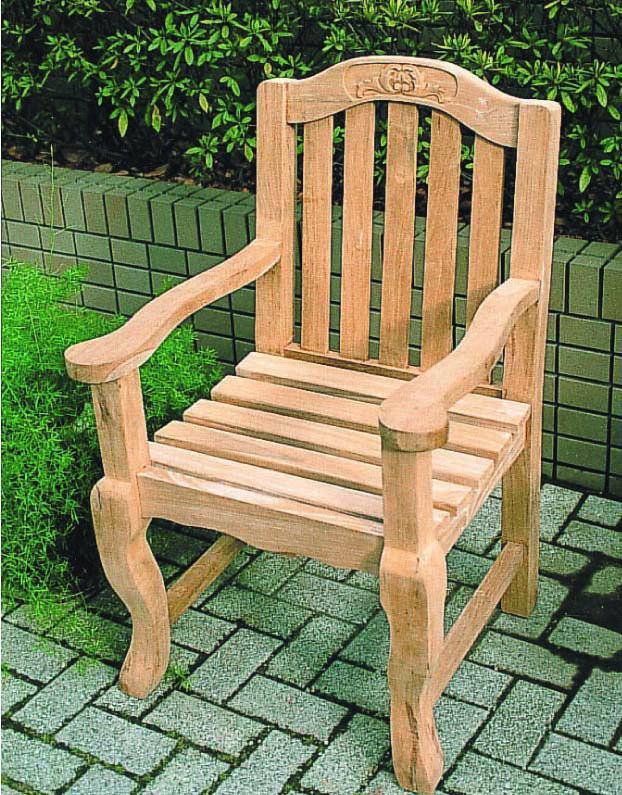 Handmade Teak Chair Garden Furniture Table Wood Chairs Patio Balcony Diy