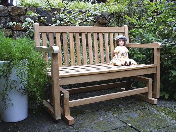 Julian Lot King Bench W1200u0026times;H870 X D 600 [garden Chair Rocking Garden