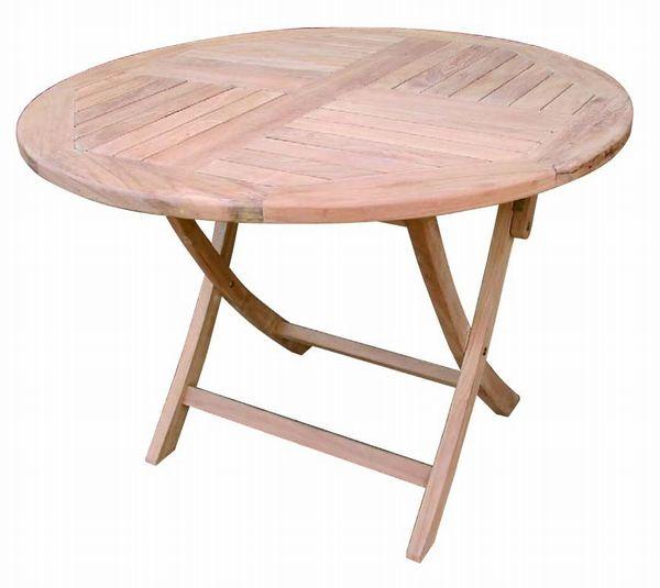チーク 折り畳み丸テーブル [ 無垢 テーブル 家具 チーク材 おしゃれ 折りたたみ コンパクト 木 高さ70 激安 ベランダ ナチュラル ] 花・ガーデン・DIY ガーデニング ガーデンファニチャー テーブル 木製