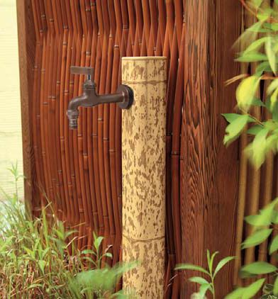 Garden Water Tap Pillar Angle Of 75 R W 75 X D75u0026times;H1000mm [water Taps  ...