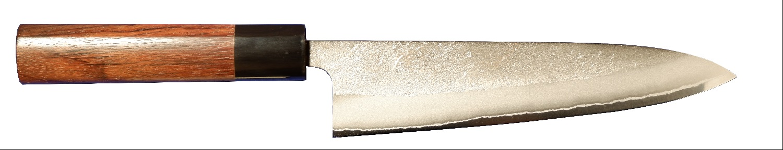 剣謙心 ステン梨地和牛刀 白紙2号 210mm SNG-210SS-S2