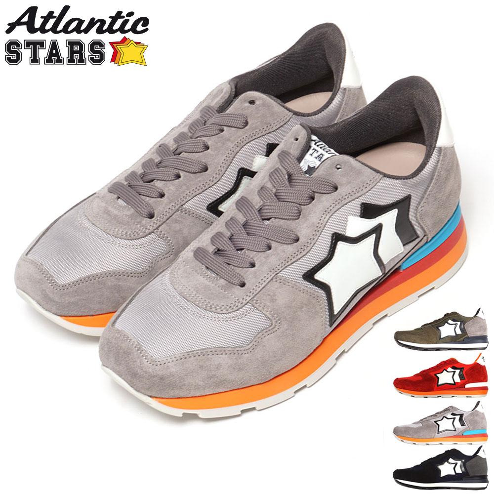 アトランティックスターズ Atlantic STARS スニーカー メンズ 靴 シューズ アンタレス カーキ/レッド/グレー/ネイビー 40/41/42/43/44/45 ANTARES
