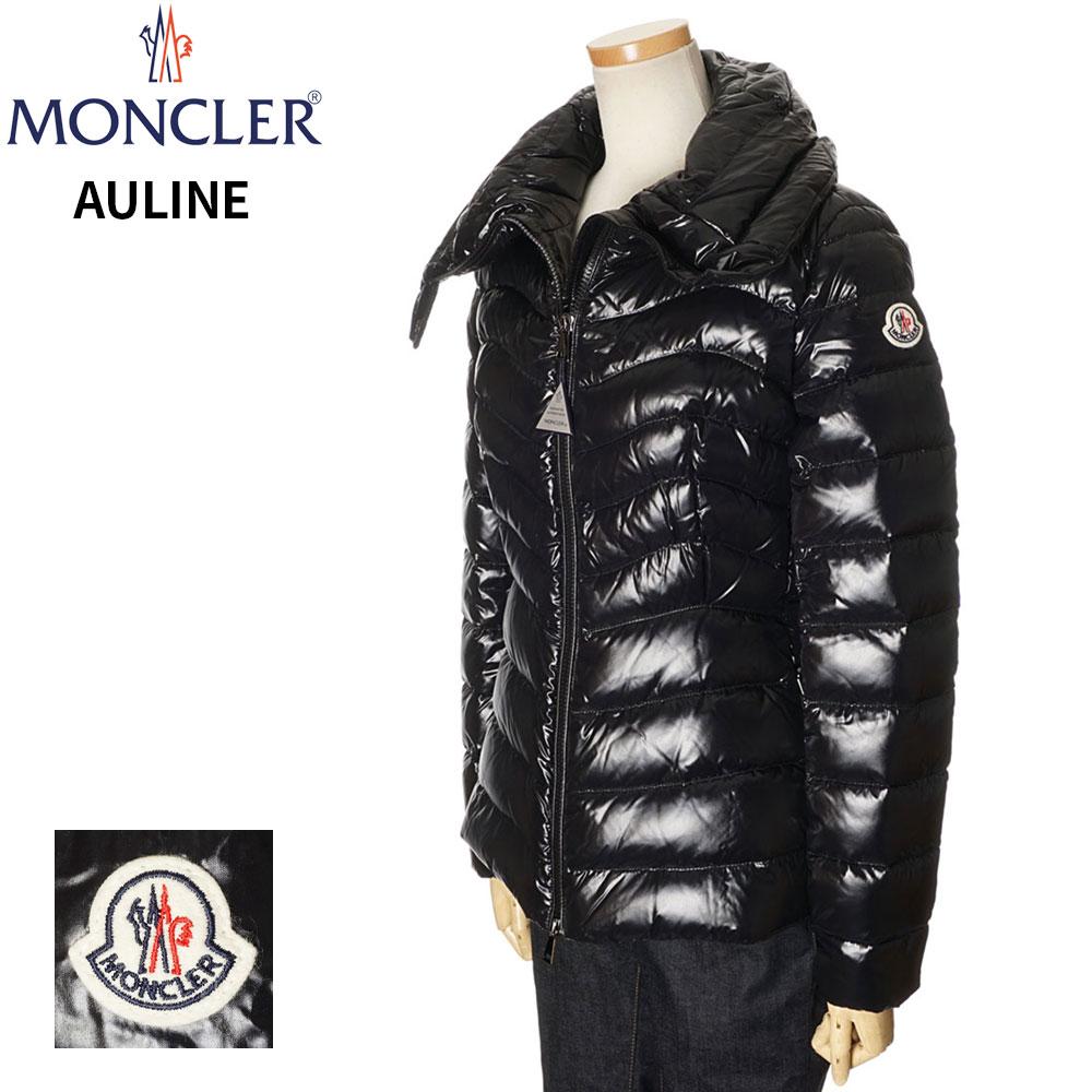 モンクレール MONCLER ダウンジャケット レディース ブラック 0/1/2 093 4591805 C0064 AULINE