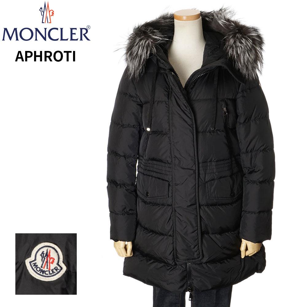 モンクレール MONCLER ダウンジャケット コート レディース ブラック 0/1/2/3 093 4933825 C0059 APHROTI