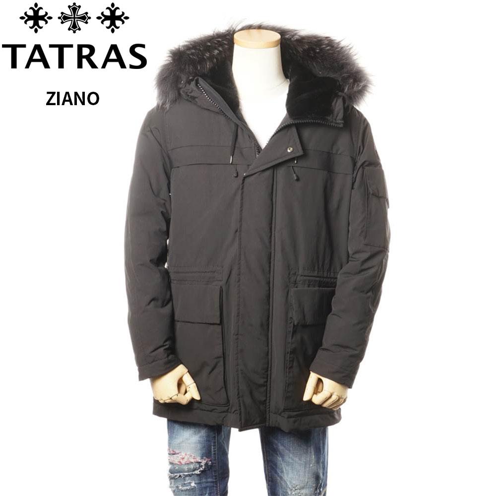 タトラス TATRAS ダウンコート メンズ ミリタリーコート ブラック 1/2/3/4/5 ZIANO 4147