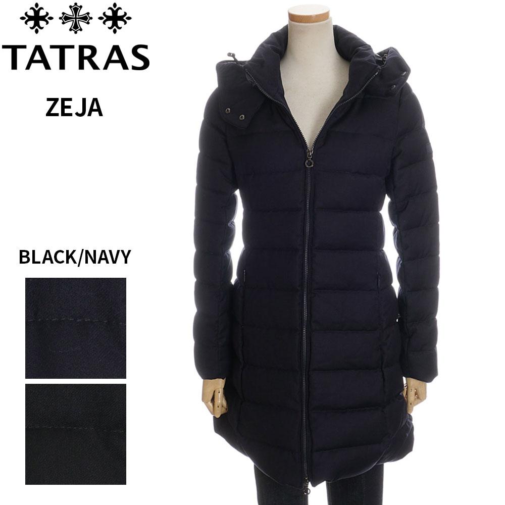 タトラス ダウン レディース TATRAS ダウン ジャケット コート ブラック/ダークネイビー 1/2/3/4/5 ZEJA 4758