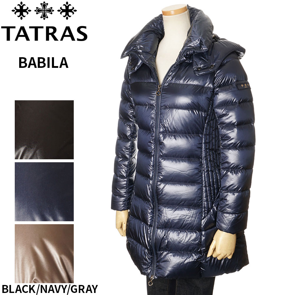 タトラス TATRAS ダウンコート レディース ブラック/ネイビー/グレーブラウン 1/2/3/4/5 BABILA 4693