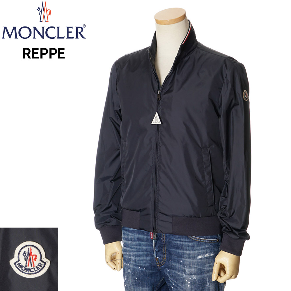 モンクレール MONCLER ナイロンジャケット メンズ ネイビー 1/2/3/4/5 091 1A72000 68352 REPPE GIUBBOTTO