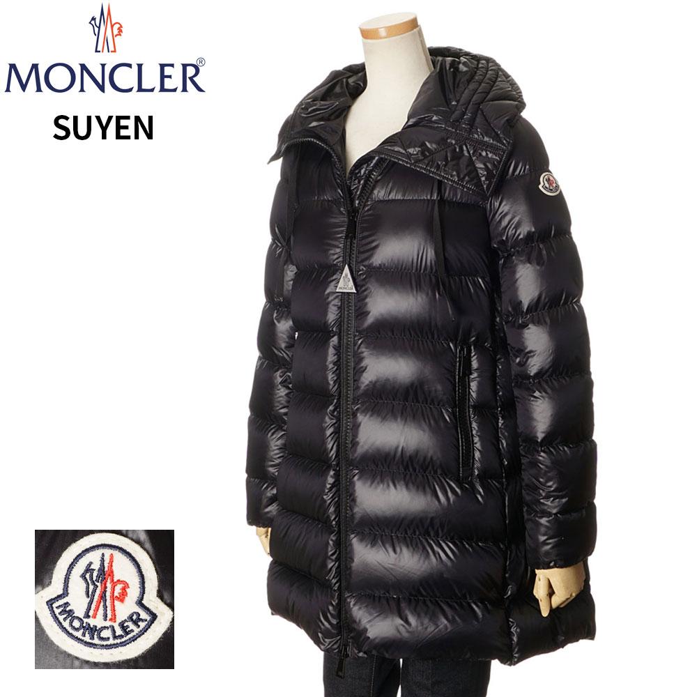 モンクレール MONCLER ダウンコート ジャケット レディース ブラック 1/2/3 093 4931949 53052 SUYEN GIUBBOTTO