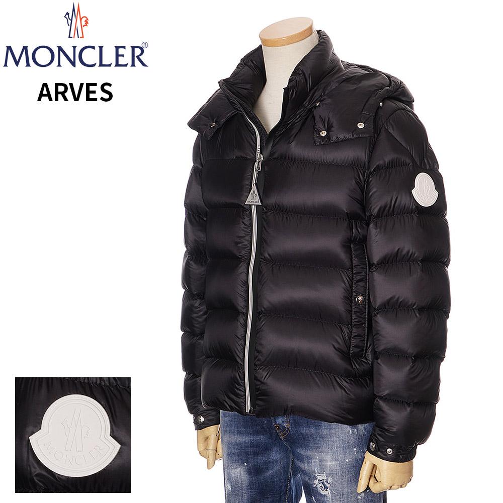 モンクレール ダウン メンズ MONCLER ダウンジャケット ブラック 1/2/3/4 091 1A20100 53334 ARVES