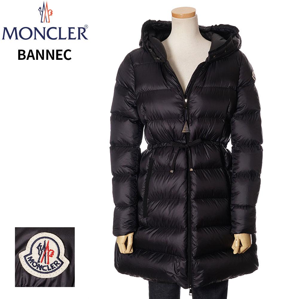 モンクレール レディース MONCLER ダウンコート ジャケット BANNEC ブラック 0/1/2/3 091 1C20100 C0229