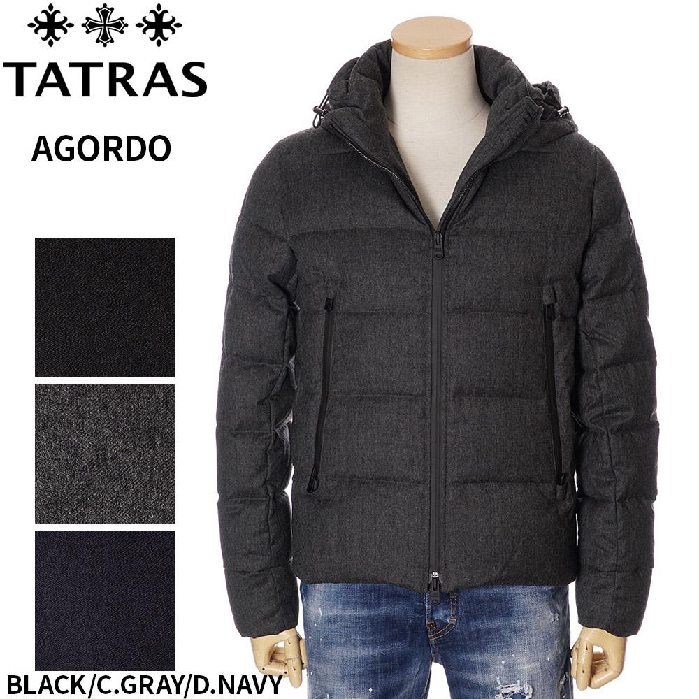 タトラス ダウン メンズ TATRAS アゴルド ジャケット ブラック 1/2/3/4/5 AGORDO 4148