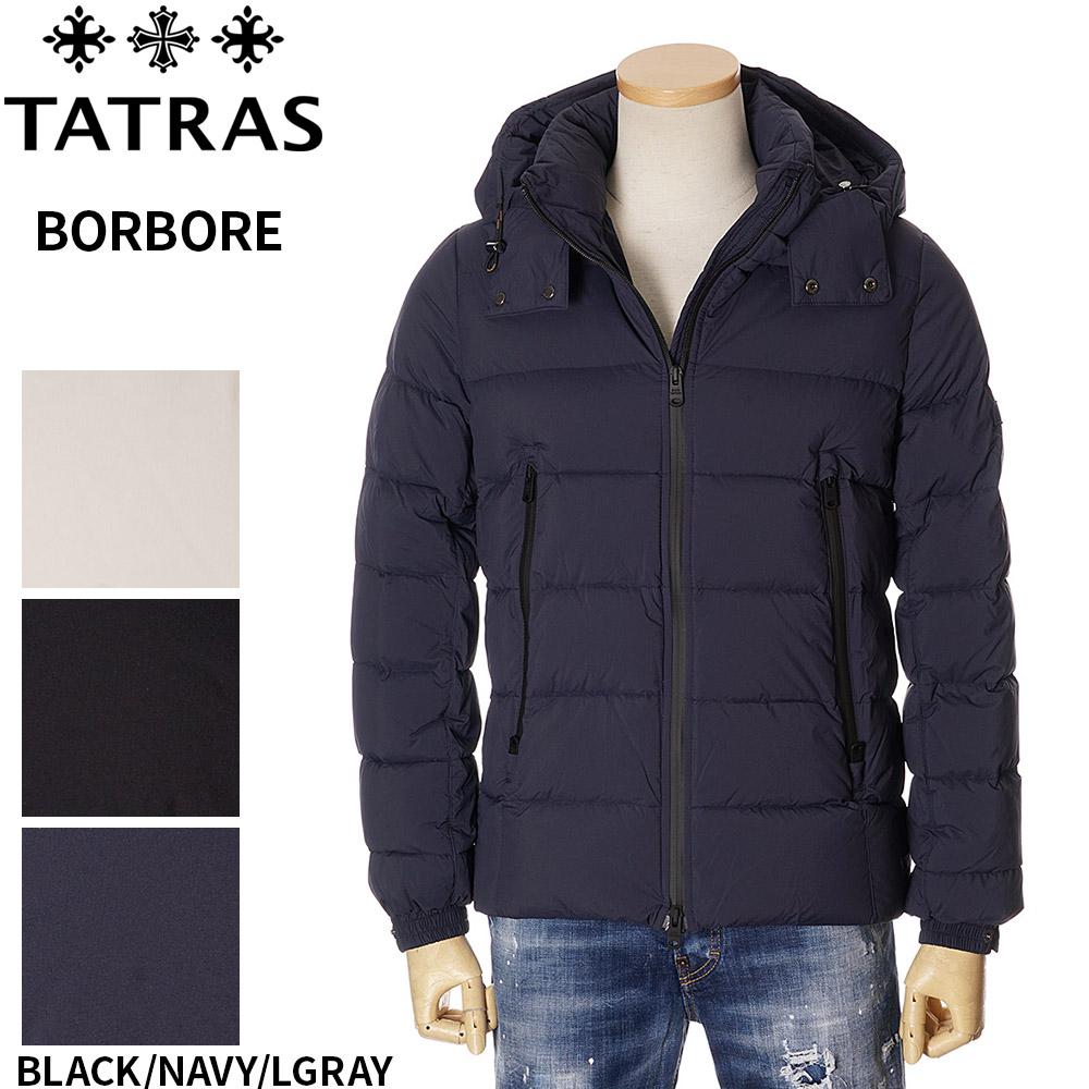 タトラス ダウン メンズ TATRAS ボルボレ ジャケット ブラック/ネイビー 1/2/3/4/5 BORBORE 4568