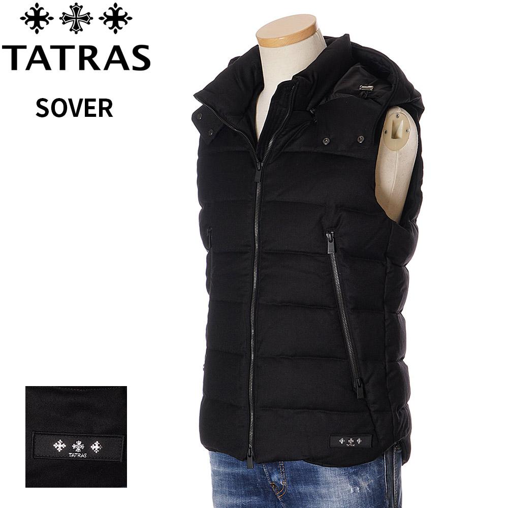 タトラス ダウン メンズ TATRAS ベスト ブラック 1/2/3/4/5 SOVER 4373