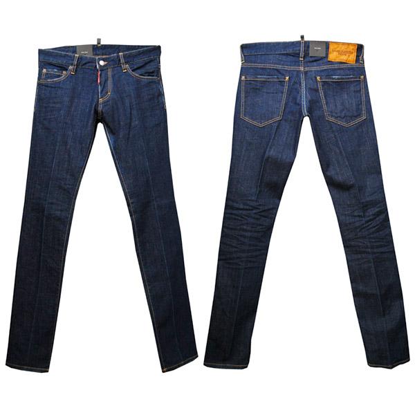 DSQUARED2 SLIM JEAN メンズ ジーンズ[32013] ブルー系 S74LA0795 S30342 470