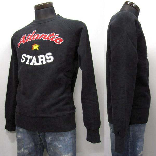 Atlantic STARS トレーナー メンズ スウェット ブラック系 S-XXL AFM1705 NERO [41011]