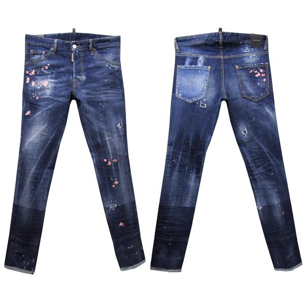 DSQUARED2 ジーンズ メンズ COOL GUY JEAN ブルー系 44-54 S71LB0322 S30342 470 [41021]
