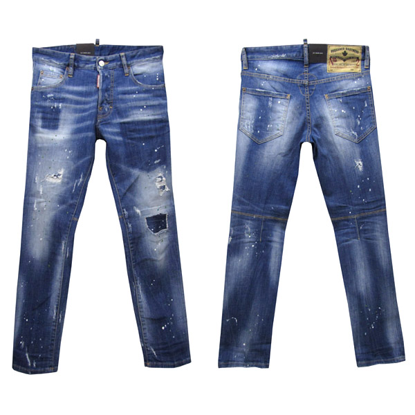 DSQUARED2 ジーンズ メンズ CITY BIKER JEAN ブルー系 44-54 S74LB0321 S30342 470 [50002]