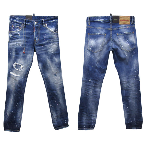 DSQUARED2 ジーンズ メンズ SKATER JEAN ブルー系 44-54 S71LB0452 S30342 470 [50015]