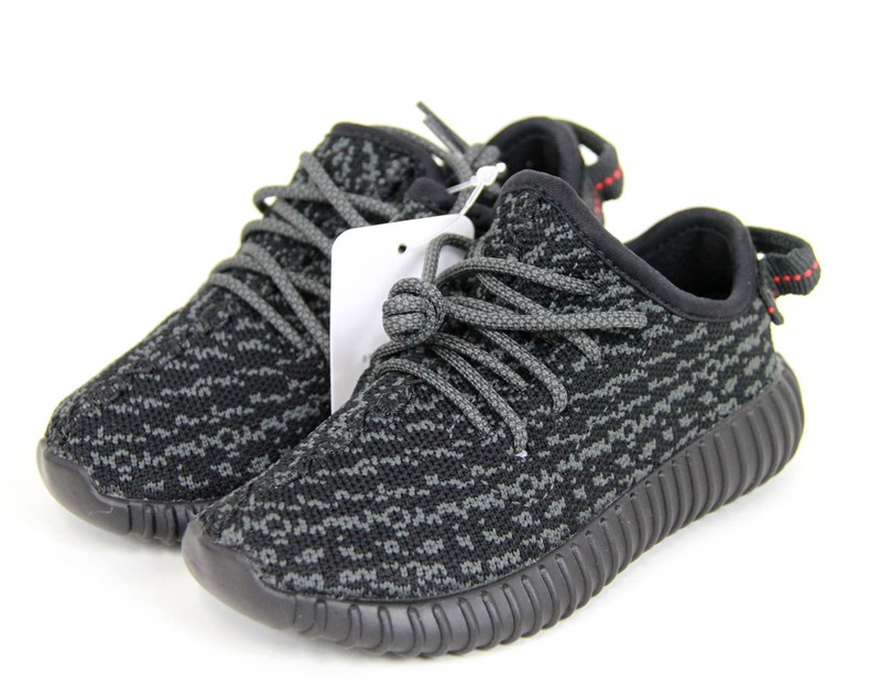 ADIDAS Yeezy Boost 350 infant by Kanye West, the adidas eager boost 350 locate sneaker kids BB5355 size:JP14.5 color: black s7 unread ya