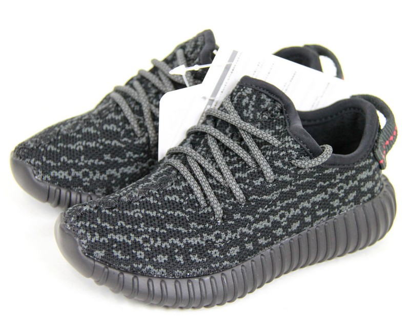 ADIDAS Yeezy Boost 350 infant by Kanye West, the adidas eager boost 350 locate sneaker kids BB5355 size:JP14 color: black s7 ya