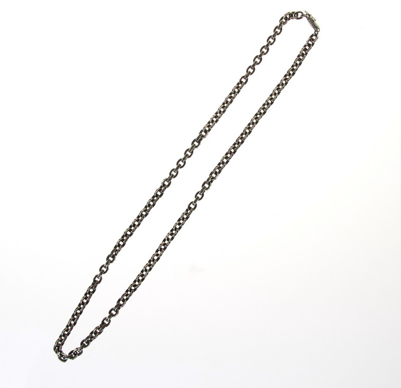 acd58d9486b3 CHROME HEARTS  chrome Hertz paper chain necklace size  20 inches of colors   Silver non-ya