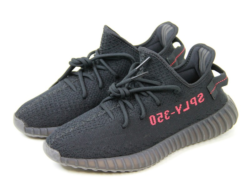 bd48669acf59 ADIDAS Yeezy Boost 350 V2 by Kanye West  Adidas easy boost 350 V2  low-frequency cut sneakers CP9652 CORE BLACK RED size  A 27cm color  Black    red non-ya