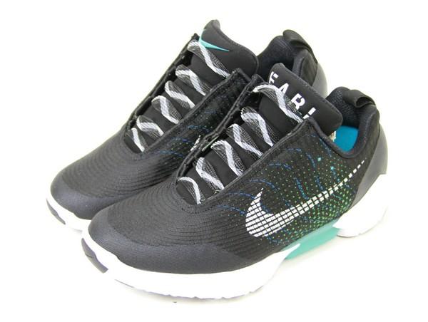 premium selection 88c36 7b529 Close a NIKE  Nike Hyperadapt 1.0 hyper adapt automatic string  sneakers  843,871-001 size  US8 color  Black   blue lagoon non-ya