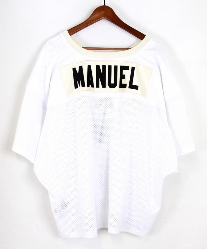 fear of god/フィアーオブゴッド 5th メッシュフットボールシャツ サイズ:L/XL カラー:ホワイト【中古】【古着】【USED】【180523】【yast01】