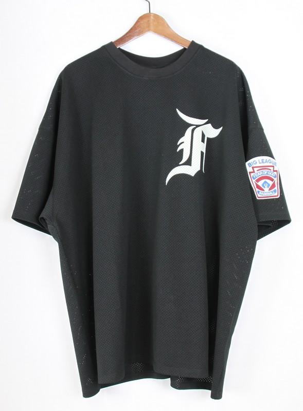 低価格の FEAR OF OF FEAR GOD/フィアーオブゴッド 5th ワッペンメッシュベースボールシャツ サイズ:XL カラー:ブラック【】【古着】【USED】【180211】【未yast01】, Web-beauty:35657611 --- cpps.dyndns.info