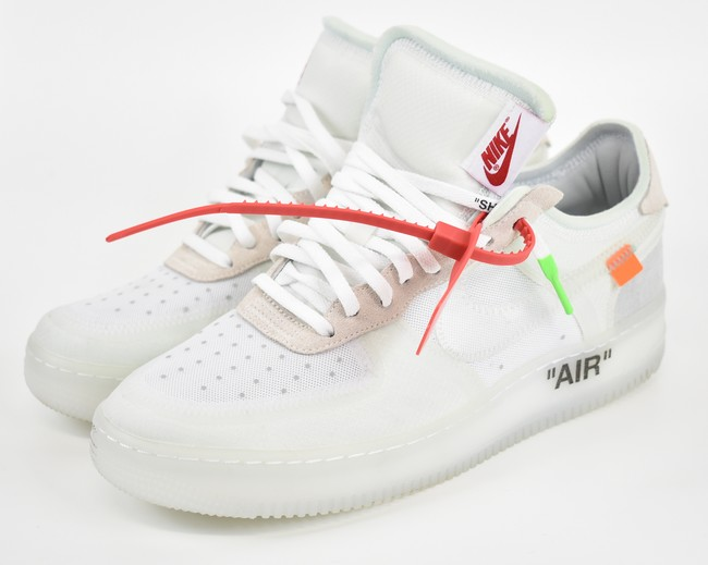 quality design f46b8 796b3 OFF-WHITE X NIKE / off-white X Ney affected ten air force 1 THE 10/AIR  FORCE 1 LOW size: A 9.5 color: White