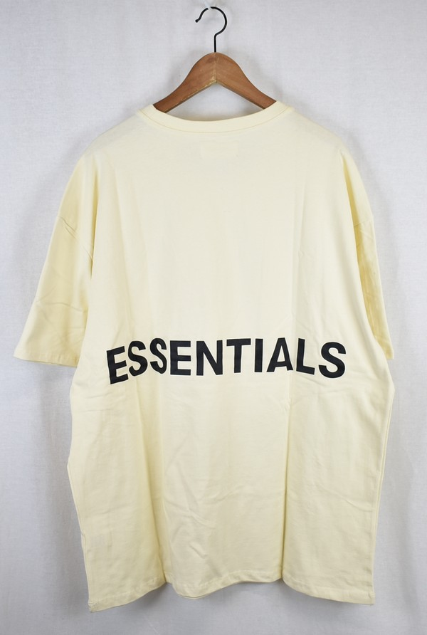 f2cc5c560 FOG/ haze essential back logo T-shirt ESSENTIALS fear of god size: L color:  Off-white