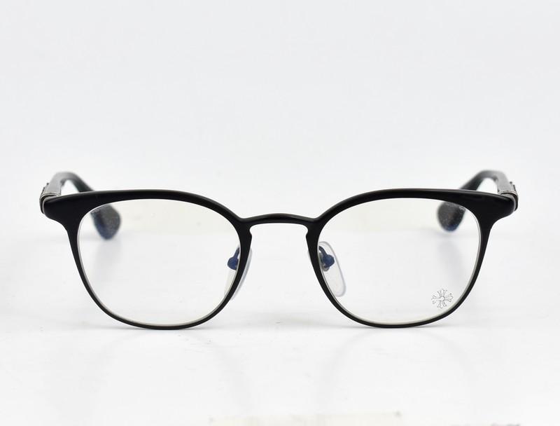 CHROME HEARTS/クロムハーツ メガネフレーム 眼鏡 メガネ GROWLER   サイズ:49□21-144 カラー:ブラック【中古】【古着】【USED】【200227】【yast】