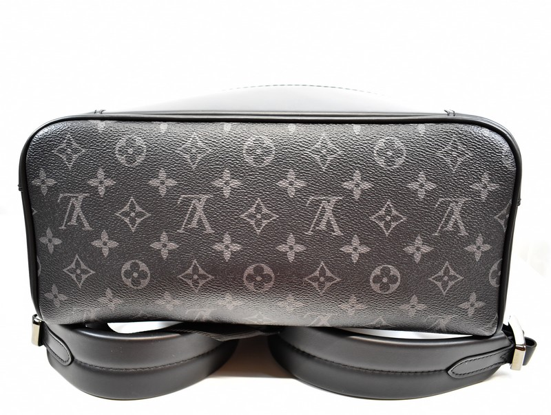 57102ed93159 LOUIS VUITTON  Louis Vuitton steamer backpack monogram eclipse rucksack  M44052 size  - A color  Gray   black